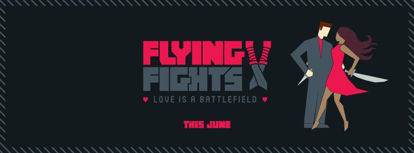 flying v fights banner