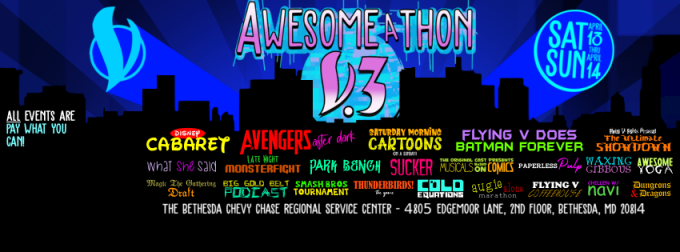 Flying V Theatre - Awesome-A-Thon Vol 3